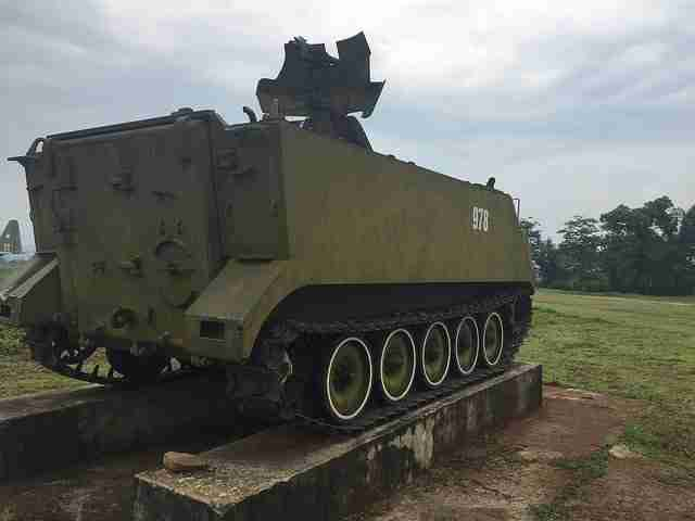 American Armored Personnel Carrier