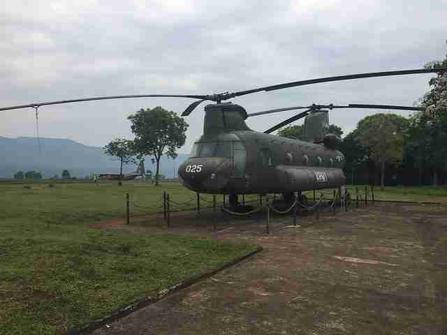 American Helicopter used in Vietnam War