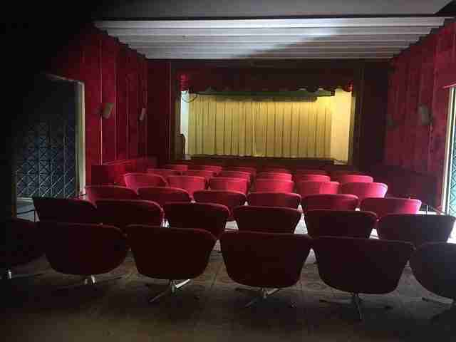 Cinema Room in The Independence Palace
