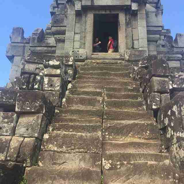 Temple Steps going up