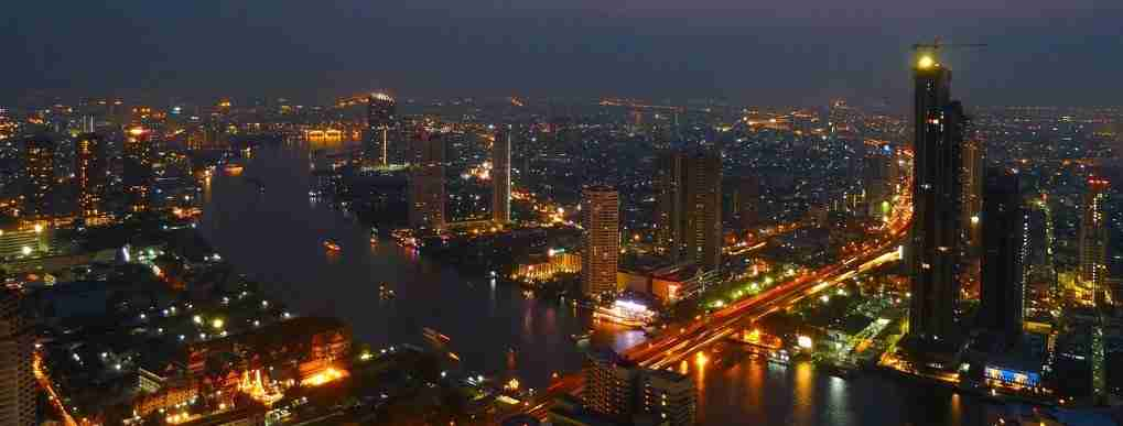 View of Bangkok from the Sky Bar