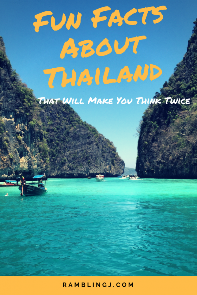 Fun Facts About Thailand That Will Make You Think Twice