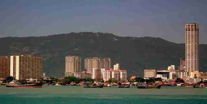 Georgetown on Penang Island