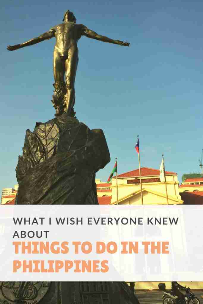 What I Wish Everyone Knew About Things To Do In The Philippines