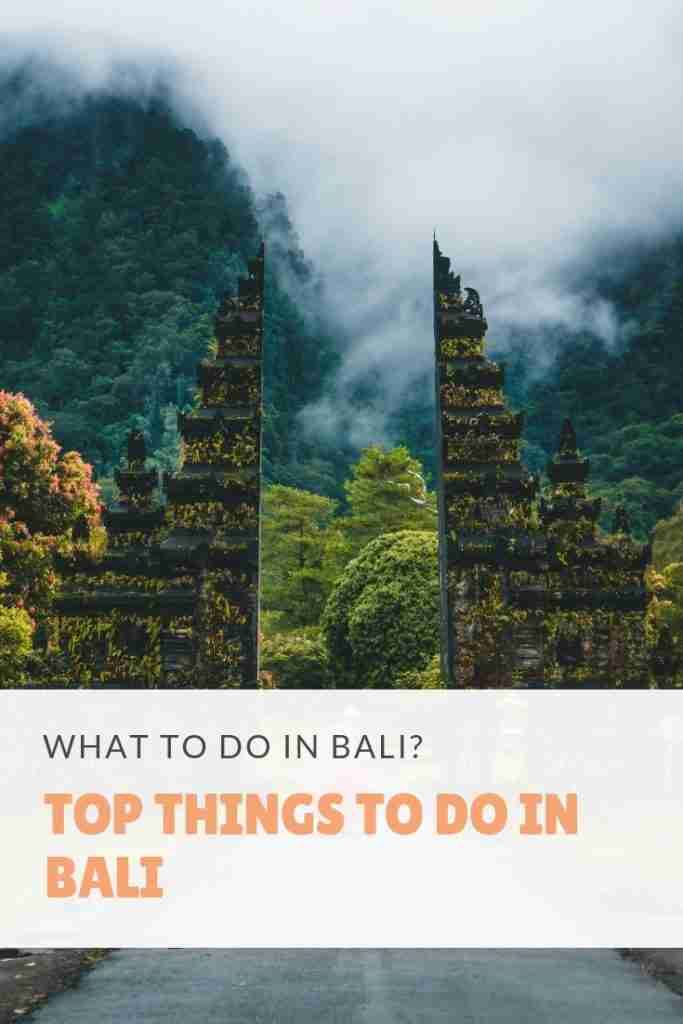 What to Do in Bali Top Things to Do in Bali