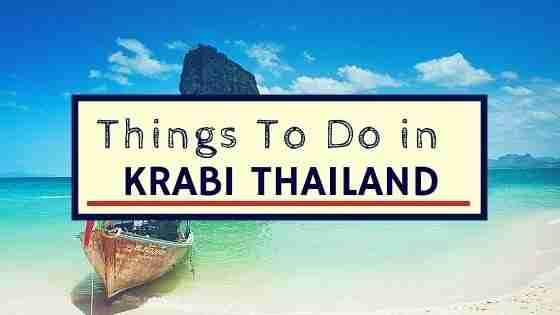 Things To Do in Krabi Thailand