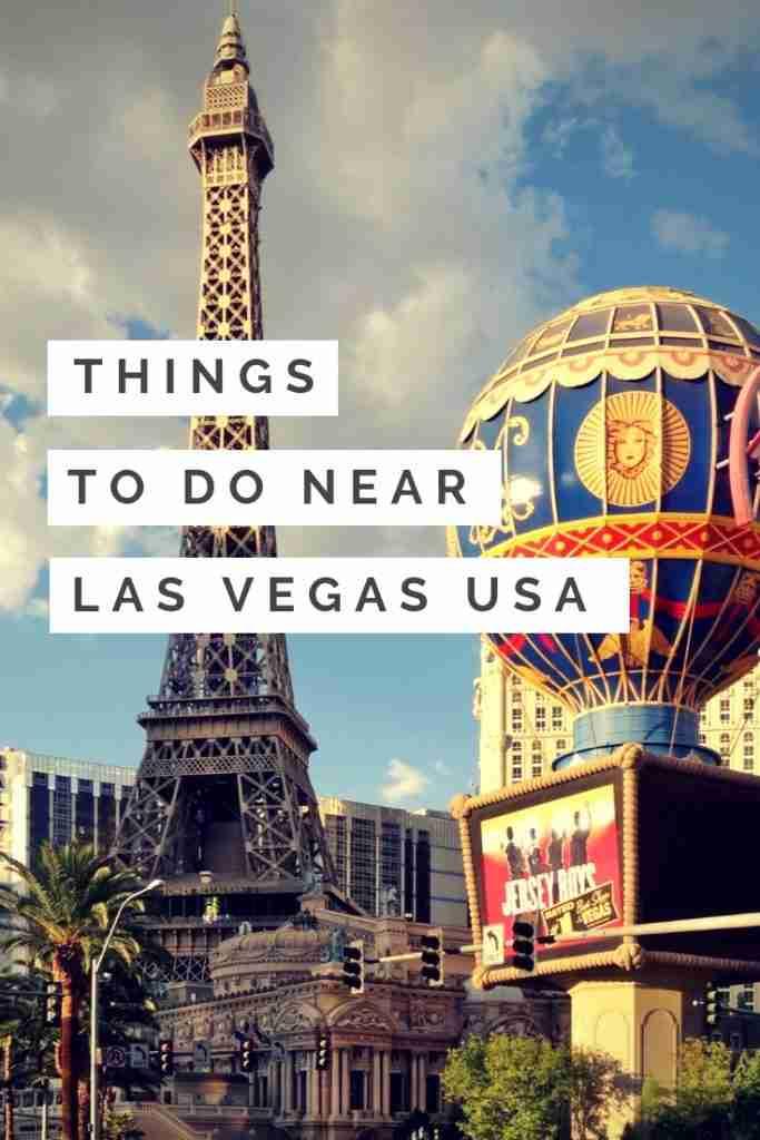 Things to Do Near Las Vegas