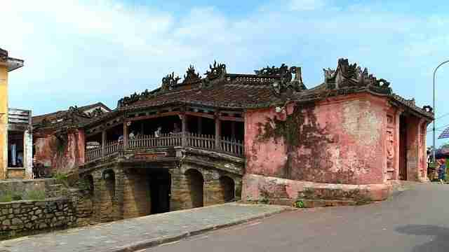 Hoi An Old Town Covered Bridge