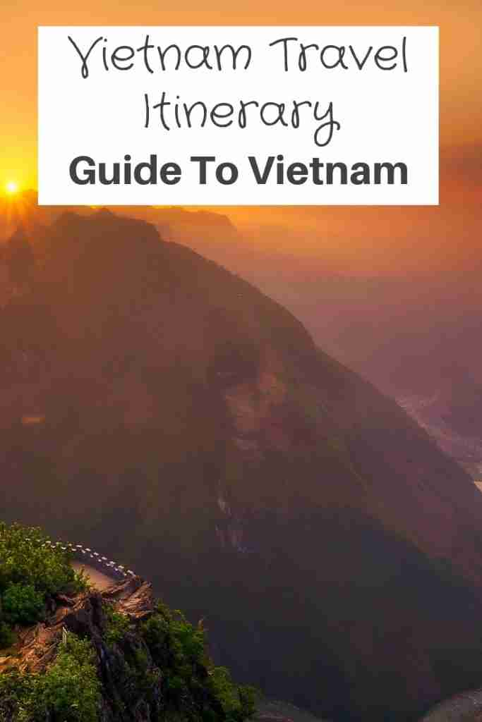 Vietnam Travel Itinerary Guide to Vietnam