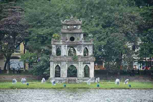 Turtle Tower Hanoi