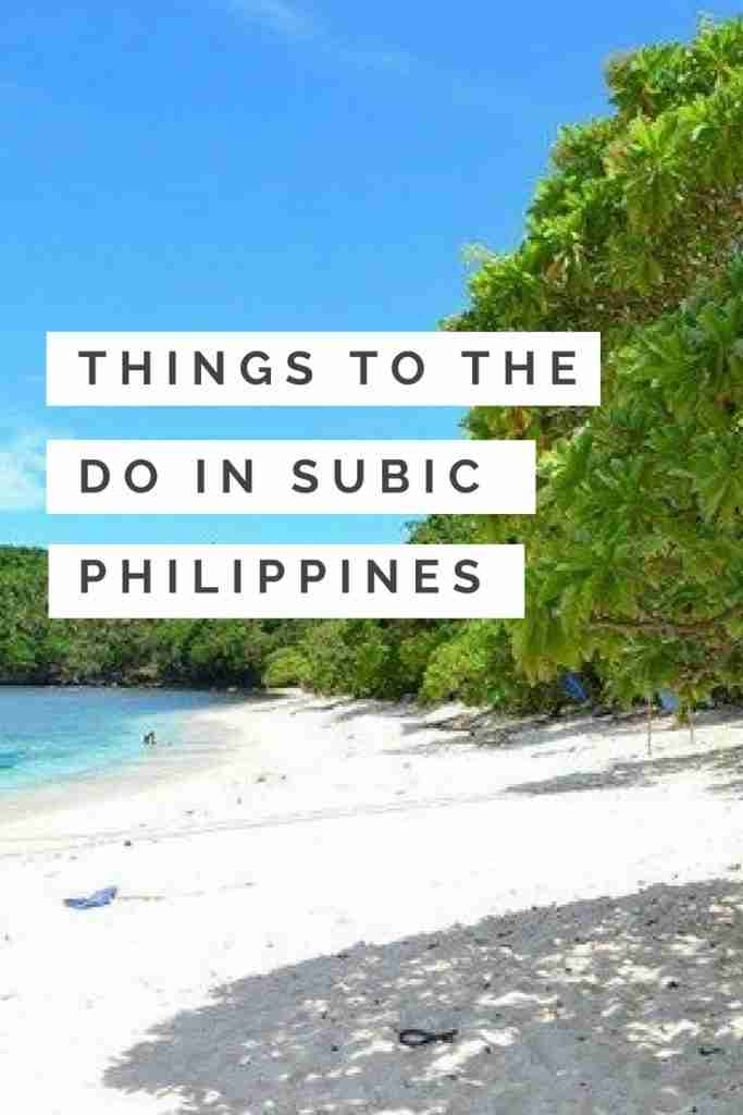 Things To Do in Subic Philippines You Don't Want to Miss Doing