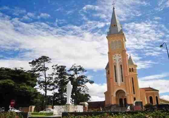 Cathedral in Dalat