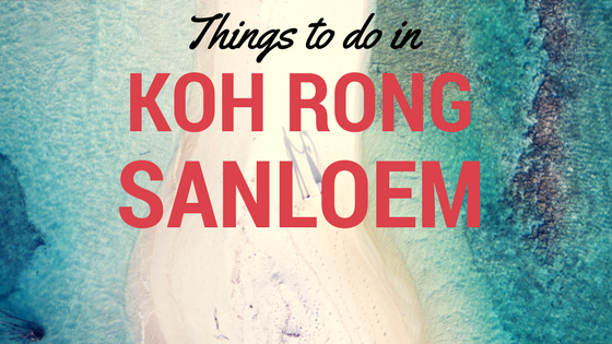things to do in Koh Rong Sanloem