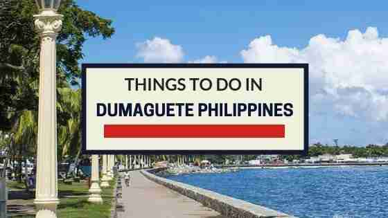 Things To Do in DUMAGUETE Philippines