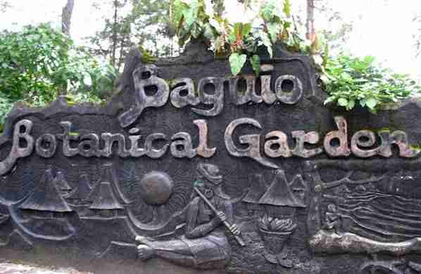 Botanical Garden in Baguio
