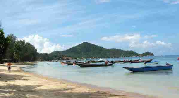Sai Ree Beach in Koh Tao