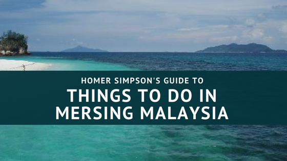 Homer Simpson's Guide to Things to Do in Mersing Malaysia