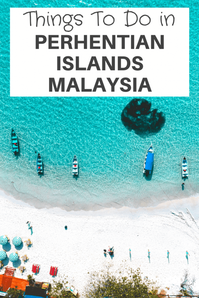 things to do Perhentian Islands Malaysia