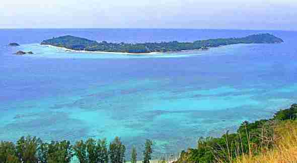 Viewpoint from Koh Adang Island