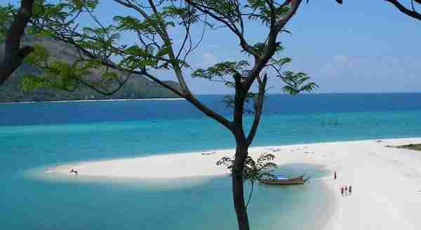 Beach on Koh Lipe Thailand