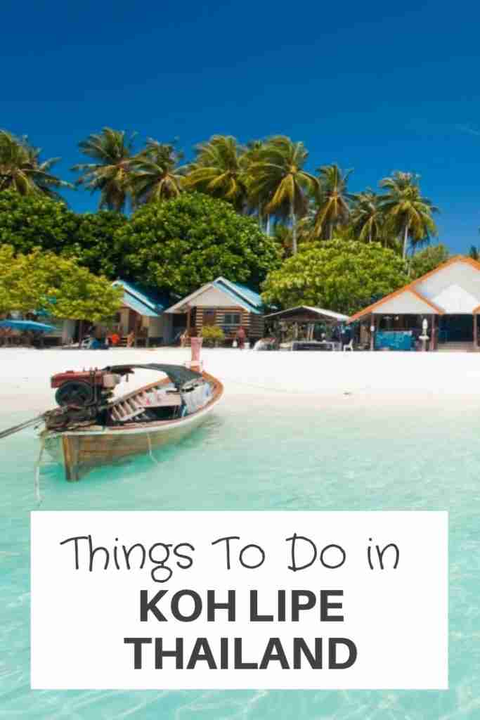 Things To Do in Koh Lipe Thailand