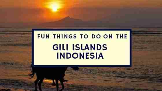 Fun Things To Do On The Gili Islands Indonesia