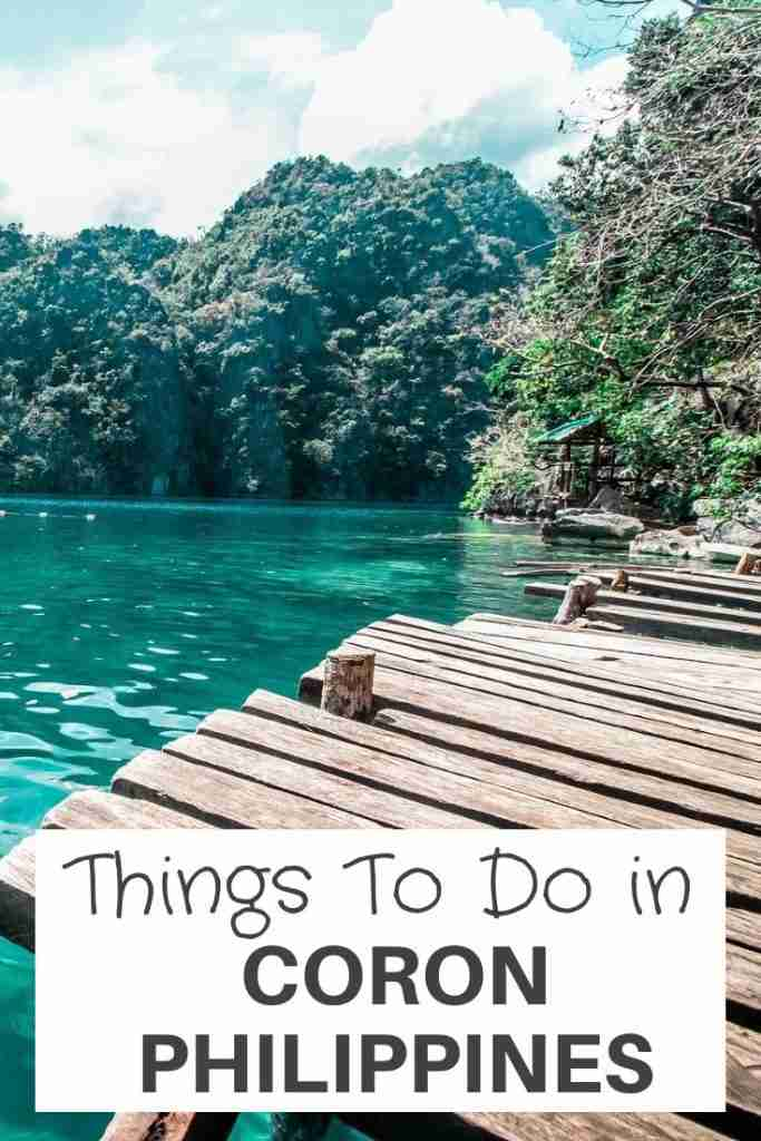 things to do in Coron Philippines