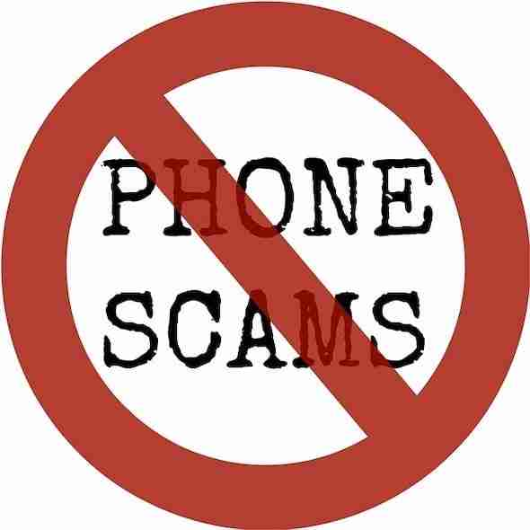 Beware of the phone scam
