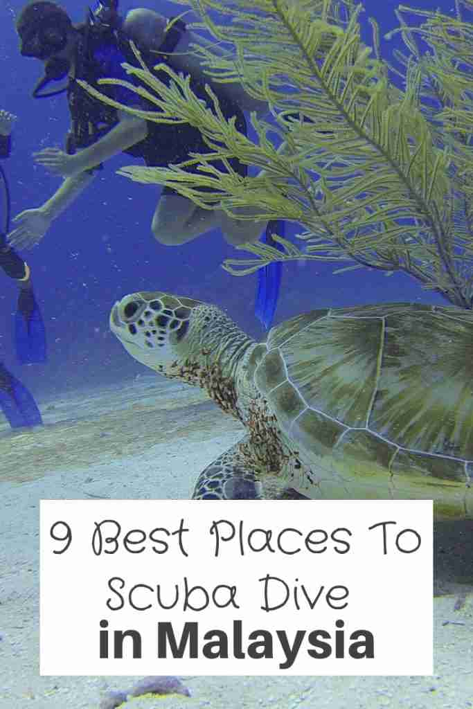 9 Best Places To Scuba Dive in Malaysia