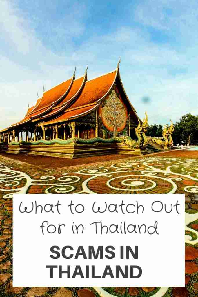What to Watch Out for in Thailand - Scams in Thailand