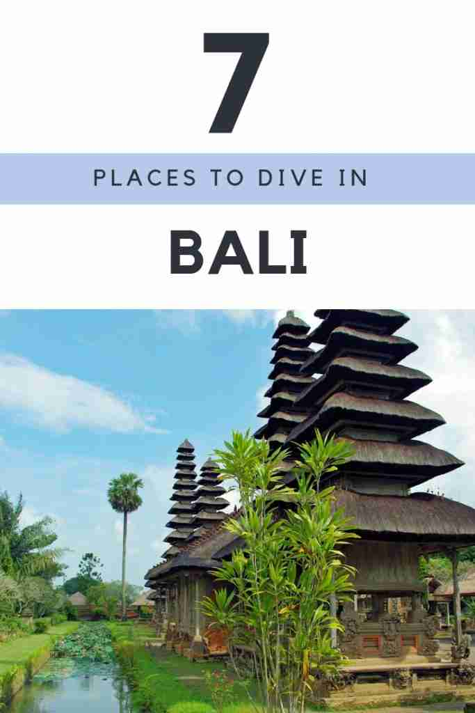 Places To Dive in Bali