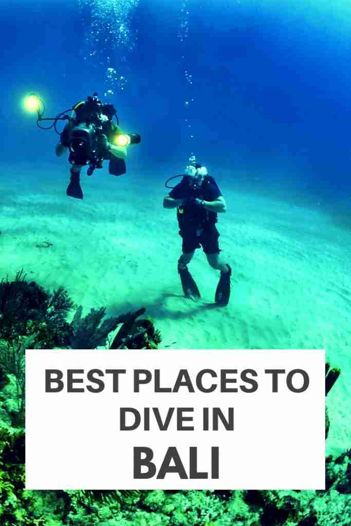 Best Places to Dive in Bali