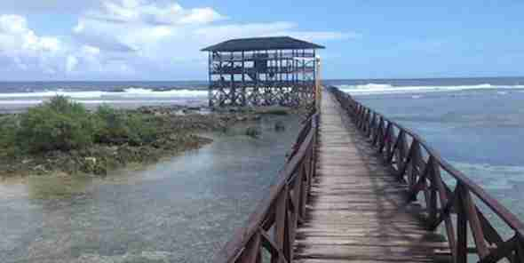 Cloud 9 Boardway Walk in Siargao