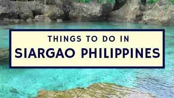 Things To Do in Siargao Philippines
