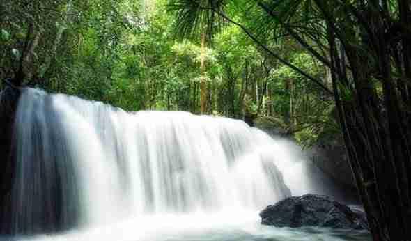 Suoi Tranh Waterfall on Phu Quoc