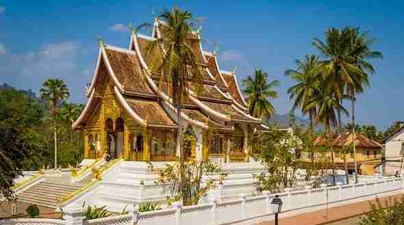Royal Palace Temple in Luang Prabang