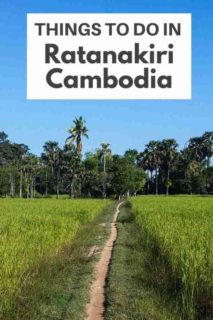 Things To Do in Ratanakiri Cambodia