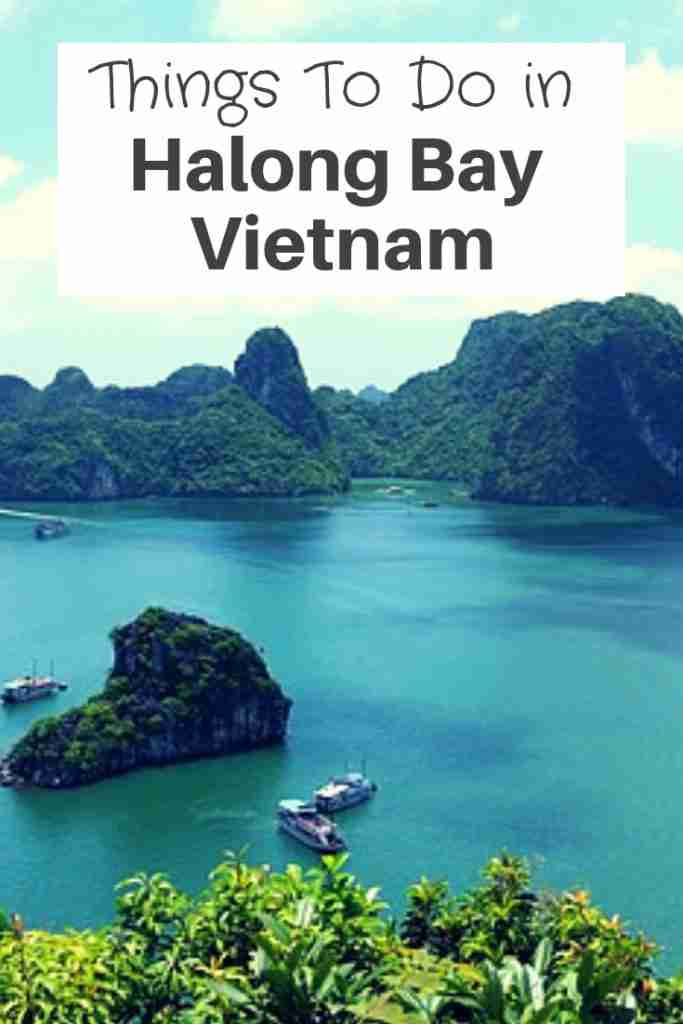 Things To Do in Halong Bay Vietnam