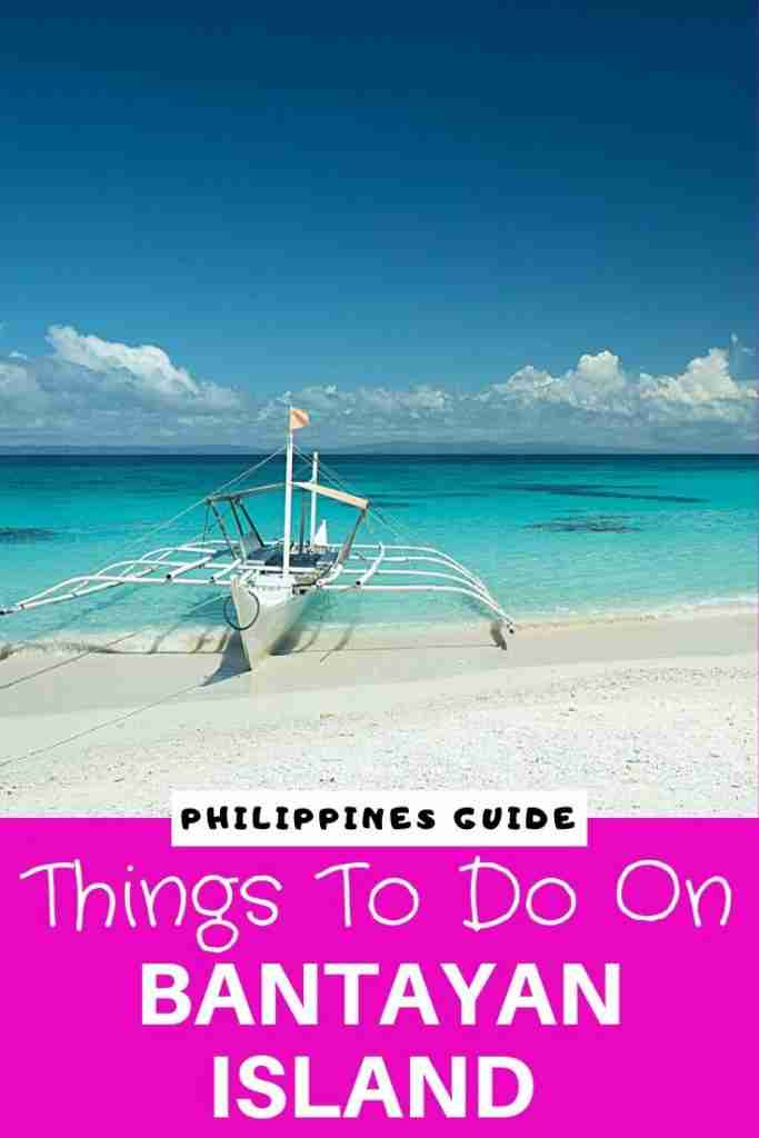 things to do on Bantayan Island Philippines