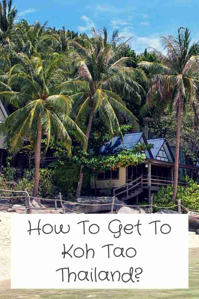 How To Get To Koh Tao Thailand