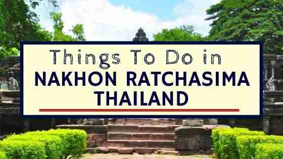 Things To Do in Nakhon Ratchasima Thailand