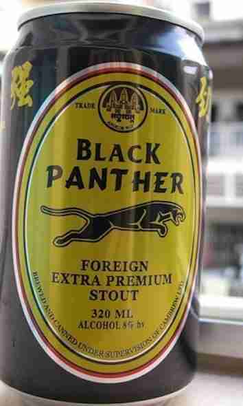 Black Panther Premium Stout