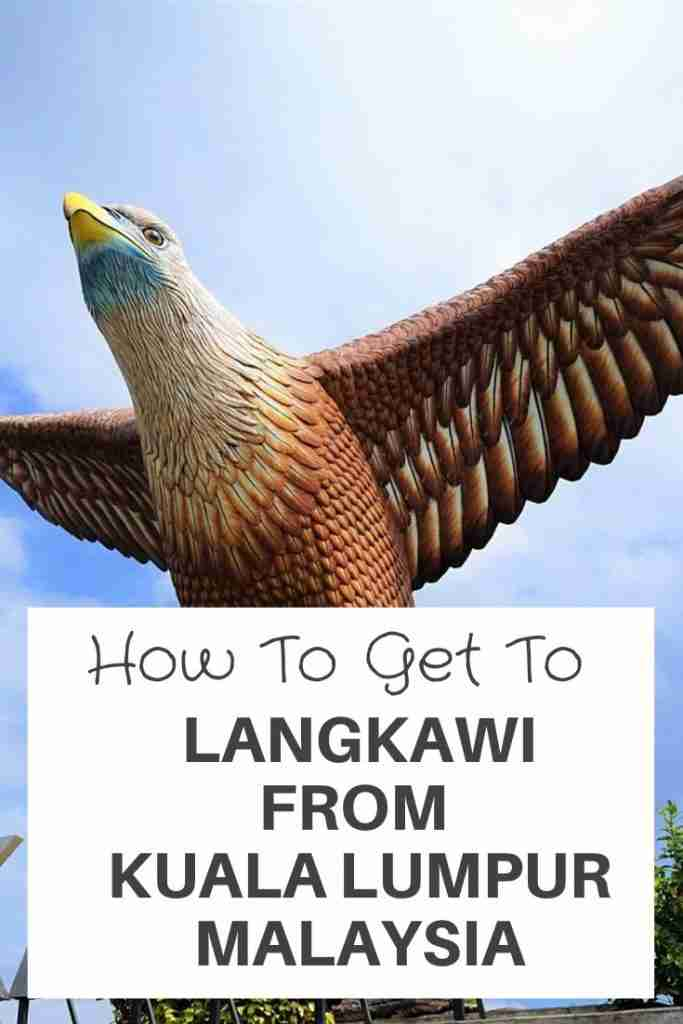 how to get to langkawi from kuala lumpur