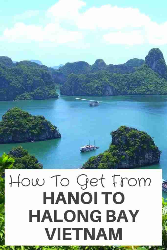 How To Get From Hanoi To Halong Bay Vietnam