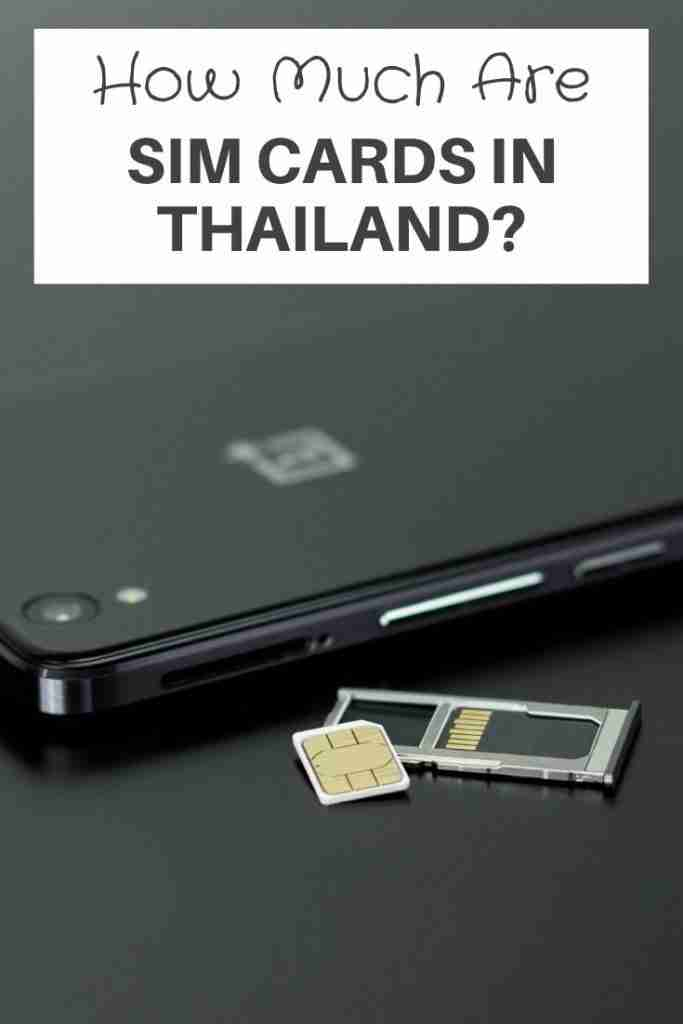 Sim Cards in Thailand