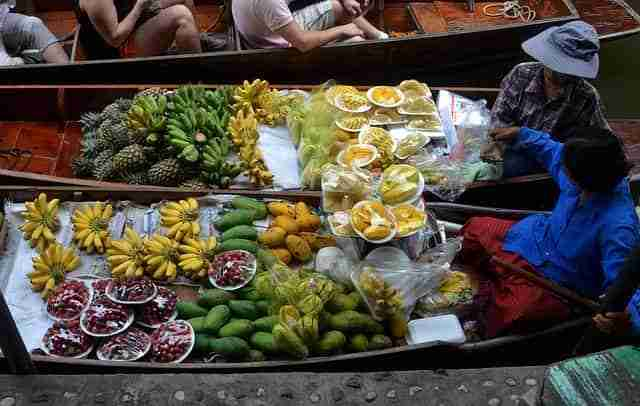 Fruit at the floating market