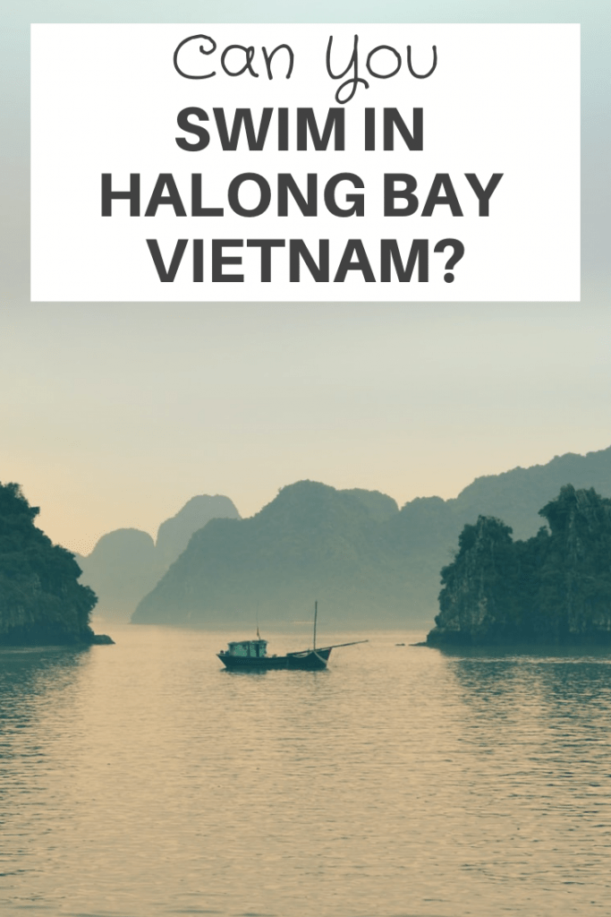Swim In Halong Bay