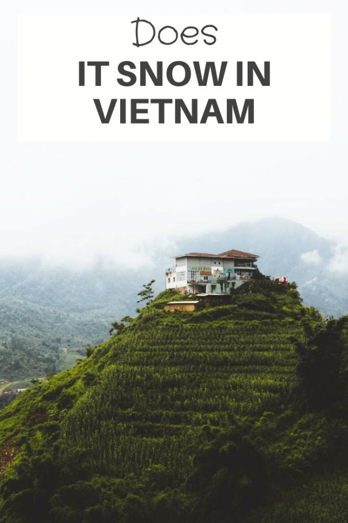 does it snow in Vietnam