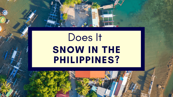 Snow In The Philippines