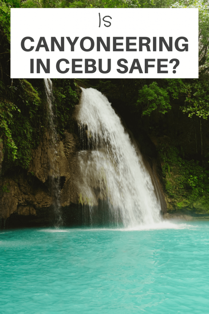 Is Canyoneering In Cebu Safe